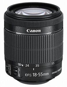 ZOOM CANON - STABILISATEUR D'IMAGE OPTIQUE EFS 18-55MM - MACRO