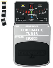 Behringer TU300 Guitar Tuner - Brand new in box UNUSED with FREE 9v Battery!!!