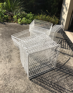 Storage Baskets for sale Neutral Bay North Sydney Area Preview