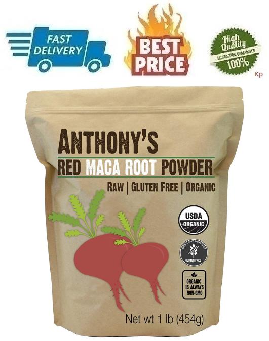 Organico Rojo Maca 1 Libra Por Anthony Primas No-ogm Y Sin G