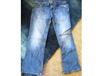 Women's jeans, size 18