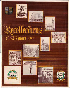 Book Recollections of 125 Years = City of Kitchener Cambridge Kitchener Area image 1