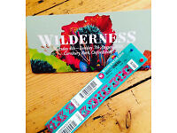 x2 wilderness festival tickets - adult weekend camping - in hand