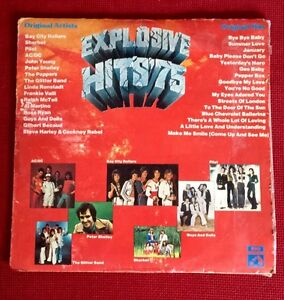 Explosive Hits 1975 - vinyl record retro vintage AC/DC Waratah Newcastle Area Preview