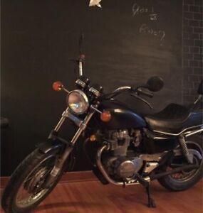 Honda motorcycle cm450e