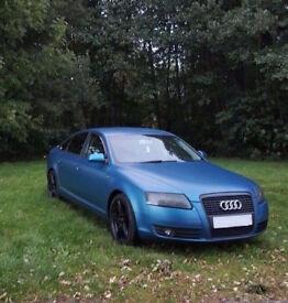 2005 Audi A6 C6 2.0 TDI SE Matt blue - Modified + Extras