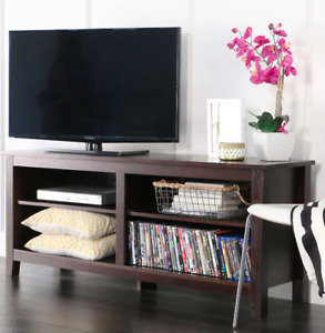 """Wood TV Media Storage Stand for TV's up to 60"""""""
