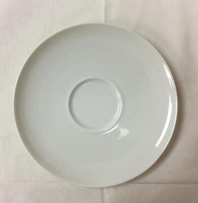 ROSENTHAL TAC 02 WHITE TEA SAUCER 6 1/4