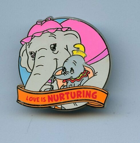 Disney Love is An Adventure Mystery Nurturing Dumbo Mrs. Jumbo Chaser LE 250 Pin