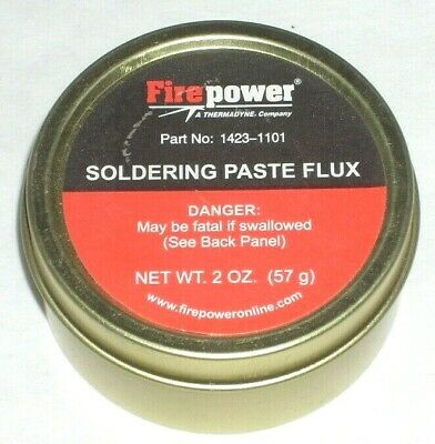 Victor Firepower 1423-1101 Soldering Flux Paste 2 Oz Tin Can