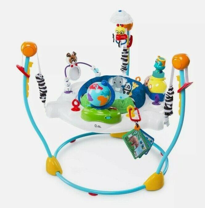 New Baby Einstein Journey of Discovery Jumper Activity Center w/ Lights/Melodies