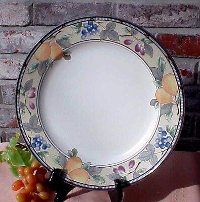 Mikasa Garden Harvest Platter Cake Plate 12 1/2