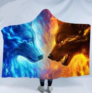Hooded blankets(50% OFF, FREE Shipping)