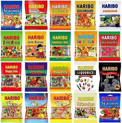 Haribo all Kinds of 80g ( 2.80 oz ) Party Favours Sweet wholesale Candy Bags](Kinds Of Party)