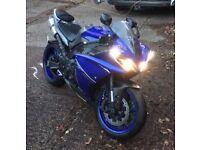 2013 Yamaha r1 (63 plate )