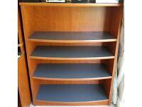IPSDEN OX10, solid wood book case, adjustable shelves