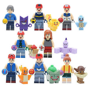 Pokemon Minifigures [8pc] *New* makes great cake toppers