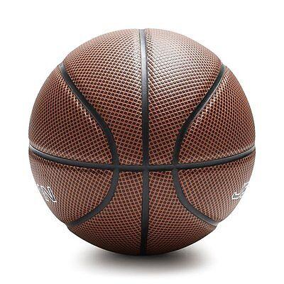 Pallone Basket Pallacanestro Palla Scura Ball Basketball Misure Ufficiali dfh