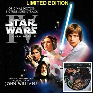 NEW VINYL Star Wars: Episode IV 2LP PICTURE DISC MUSIC RECORD - STAR WARS: A NEW HOPE - JOHN WILLIAMS 106490474