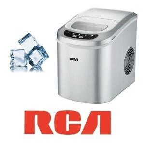 RFB RCA TABLE TOP ICE MAKER RIC102-SILVER 201212535 SILVER COUNTER REFURBISHED