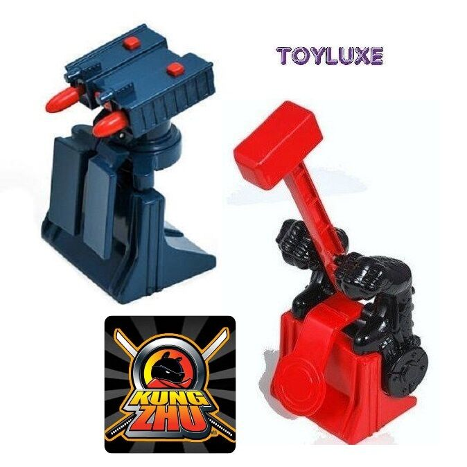 Kung Zhu Pets Hampster Activated MISSILE ATTACK TOWER / DRAGON HAMMER Trap AddOn