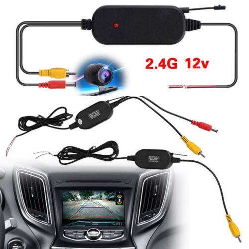 EINCAR Wireless Transmitter Receiver for Car Reverse Rear View Camera Monitor