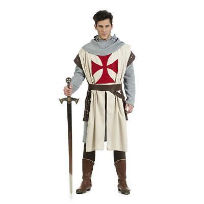 Tempelritter Herrenkostüm Kreuzritter Mittelalter Ritter Herren - Ritter Kreuzritter Kostüm