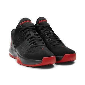 AIR JORDANS RED AND BLACK 5 AM NEW *CHEAP* size 9