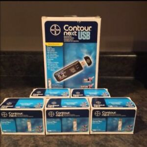 Contour Next Blood Glucose Test Strips with meter