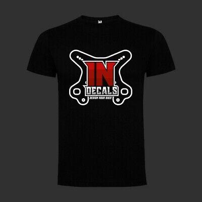 Camiseta Negra Personalizada Indecals Mariposa