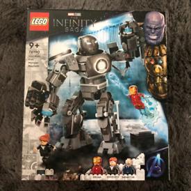 The infinity saga iron man lego(sarah's new account pls message on thi