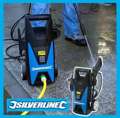 Silverline 105 Bar 1650W Jet Washer / Pressure Washer Car Patio Cleaner