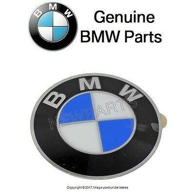 For BMW Wheel center cap Emblem insignia badge 64.5mm GENUINE 36 13 6 767 (Emblem Wheel)