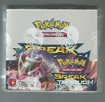 Pokemon TCG XY BREAK THROUGH Factory Sealed Booster Box