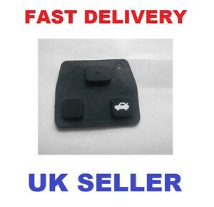 Toyota-2-3-Button-Key-Remote-case-Replacement-Rubber