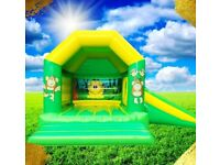Bouncy castle, all inflatables, wedding bouncy castle, face painting and cakes