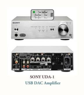 SONY UDA-1 DAC & Amplifier Hi-Res audio system *Brand NEW*