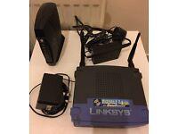 Linksys Wireless-G Broadband Router WRT54GS Speed Booster & Motorola Cable modem