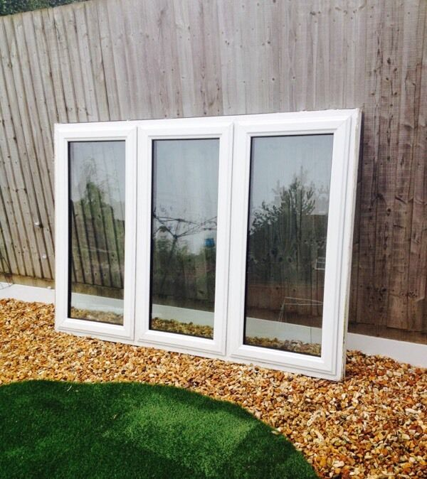 Patio doors white upvc double buy sale and trade ads for Double glazed patio doors sale