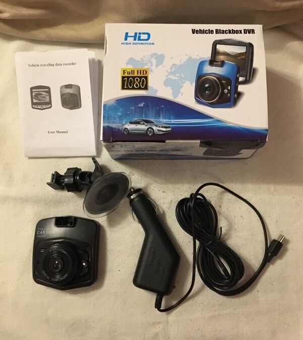Car dash cam with IR night vision - new