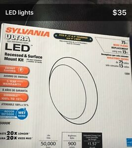 Sylvania ULTRA LED lights - Brand new in box