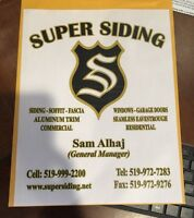 Siding installer wanted