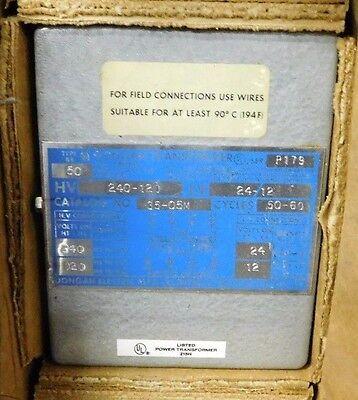 New Dongan Transformer 35-05 M 50v 5060 Hz 240120hv 2412lv Open Box