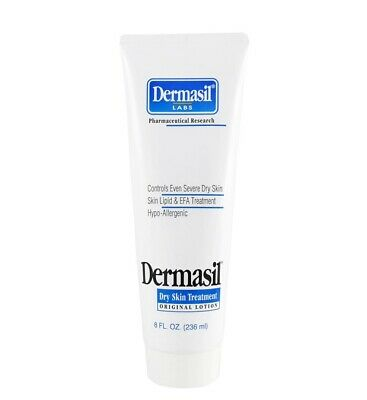 Dermasil Dry Skin Treatment Original Lotion ~8 FL Oz ~NEW~ Dry Skin Lotion