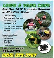 Shediac Area Lawn Care & Property Maintenance