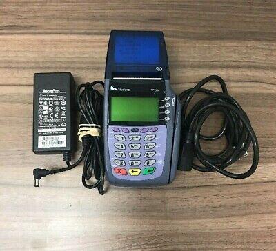 Verifone Vx510 Credit Card Terminal Reader Omni 5100 Vx 510 Veri Fone Scanner