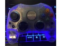 Original Xbox S controller Crystal