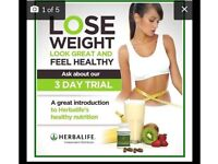 Weight and lifestyle change with Herbalife