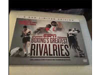 4 DVD limited edition ESPN Boxings Greatest Rivalries.