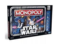 Star Wars 40th Anniversary Monopoly Board Game